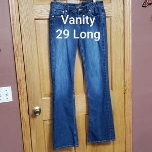 Vanity Jeans Dakota Style 29 Long
